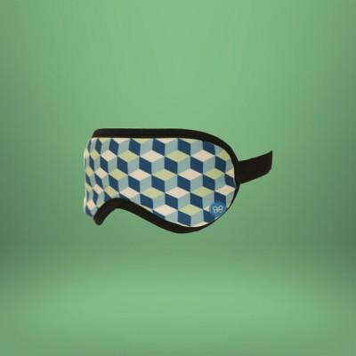 Accessoires de voyage - Masque de Sommeil Cube Green
